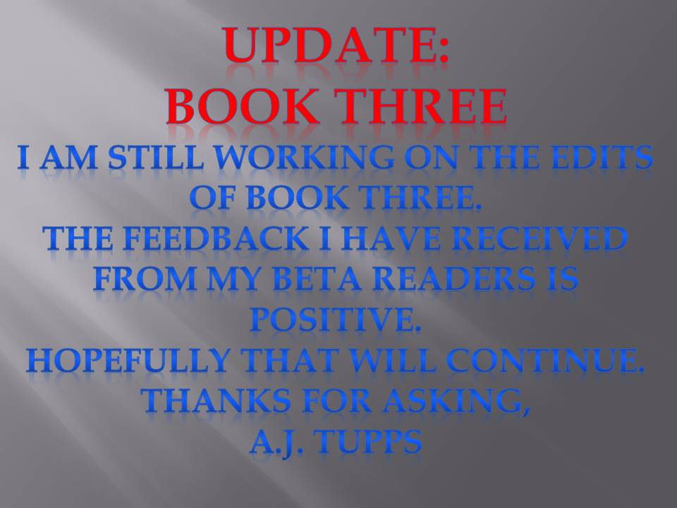 book three update